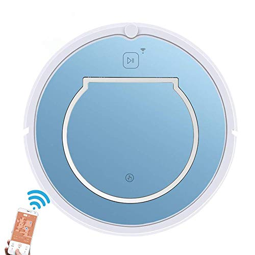 Amazing Deal Robot Vacuum Cleaner,1200PA Robot Vacuum Cleaner, Blue