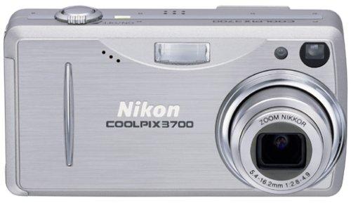 Nikon Coolpix 3700 Digitalkamera (3,2 Megapixel)
