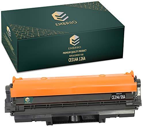 EMBRIIO CE314A 126A Unidad de Tambor Reemplazo para HP Colour Laserjet CP1025 CP1025nw CP1020 M175a M175nw Pro 100 M175 MFP M175a M175nw M176n M177fw M275 TopShot M275 M275a M275nw