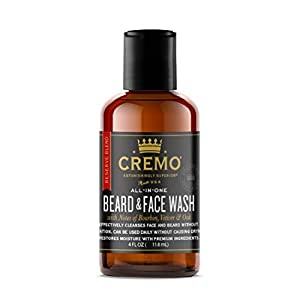 Cremo Beard and Face Wash Reserve Collection - Distillers Blend, 4 Ounce 3