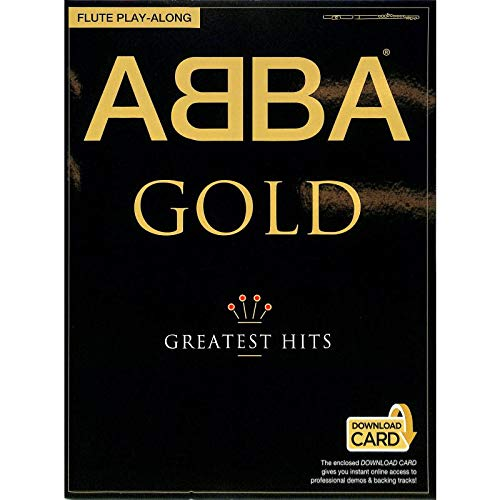 Edition Music Sales ABBA Gold :Greatest Hits mit online Playback für Querflöte - 19 ABBA-Hits für Flöte, u.a. mit Dancing Queen, Mamma Mia, Super Trouper und Waterloo