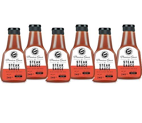 GOT7 Nutrition - Premium Saucen 6er Box Steak Sauce
