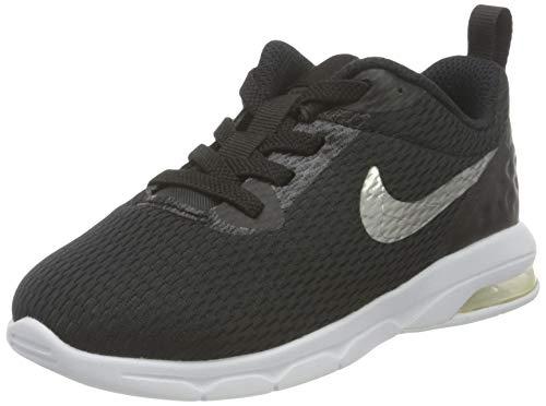 Nike Kleinkinder Sneaker Air Max Motion LW, Scarpe da Ginnastica Basse Unisex-Bambini, Nero (Black/Mtlc Pewter-Wh 005), 21 EU