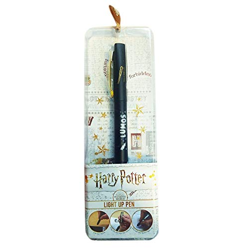 Blue Sky Studios Harry Potter Ball Pen with Light Lumos Cancelleria