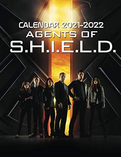 Agents of S.H.I.E.L.D Calendar 2021-2022: TV Series Calendar 2021-2022 - 2 Years Months Calendar