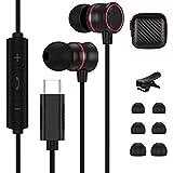 Auriculares USB C, auriculares estéreo Hi-Fi con micrófono y control de volumen para Samsung S21 Ultra/S21+/S21/S20 FE/S20+/S20+/S20 Ultra/S20