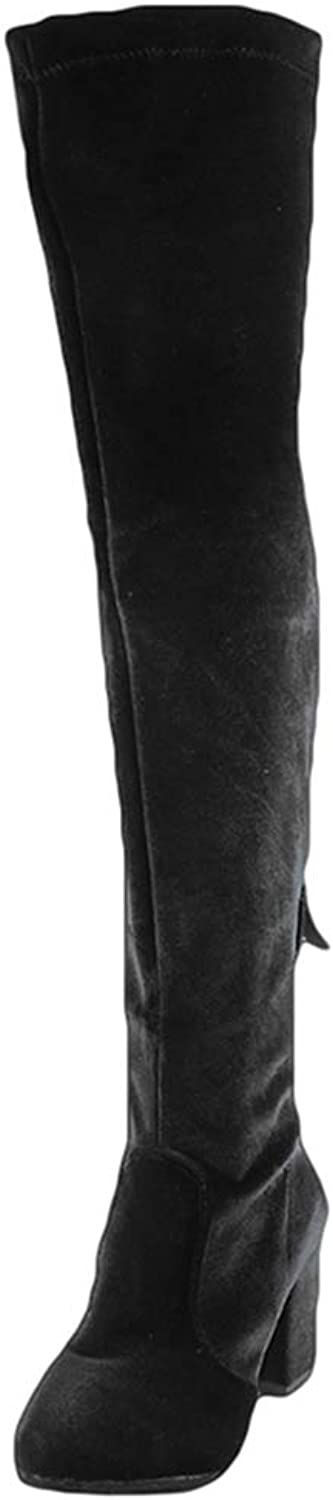 Women Winter Sexy Over The Knee High Boots High Heels Lady shoes Solid Winter Warm Long Fashion Boots