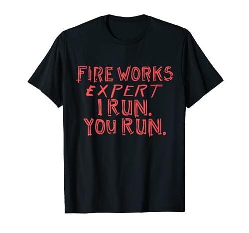 Pirotecnico fuegos artificiales - Nochevieja Pyro Rocket regalo Camiseta