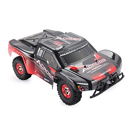 RC Auto kaufen Short Course Truck Bild 2: HIPENGYANBAIHU WLtoys Buggy Vehicle12423 12.01 2.4G 4WD High-Speed-Elektro Brushed Short Course Off-Road RTR RC Auto mit LED-Licht (Farbe: schwarz & orange)*