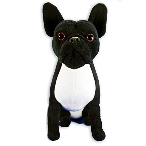 FGA MARKETPLACE French Bulldog Stuffed Animal, Realistic Looking Supersoft Plush Toy , Amazing Collection, A Huggable Keepsake for All Ages French Bulldog