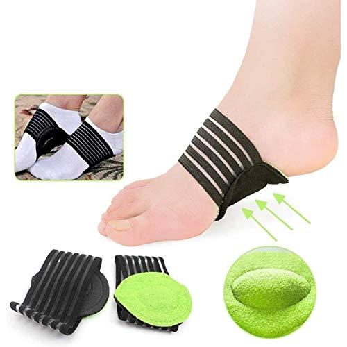 ENERGY01 - 1 paio di solette ortopediche di sostegno dell'arco plantare, per piedi piatti e dolori, cuscino imbottito per uomo e donna, supporto per fascite plantare