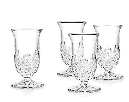 Godinger Whiskey Glasses, Dublin, 4oz - Set of 4