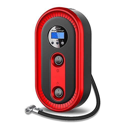 Yondel draagbare luchtcompressor, 12 V, universeel, voor buiten, noodgevallen, elektrisch, voor banden, luchtpomp
