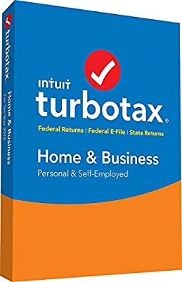 Turbo Home & Business 2018 Tax Preparation Software