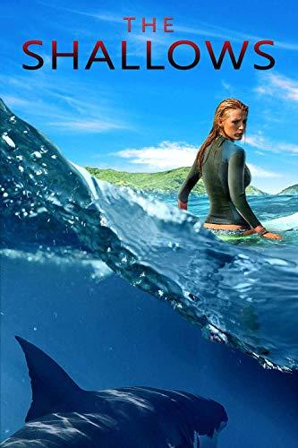 azfvveu Puzzle, 1000 Teile Puzzle für Erwachsene Puzzles, Unmögliches Puzzle-Wunder, Pädagogisches Puzzle-Spielzeug für Kinder - The Shallows Movie Poster