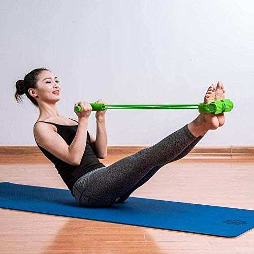 CLI Elastic Pull Rope Resistance Band Fitness Extender für Bauch/Taille/Arm/Bein Extension Training Sit-up Übung Bauch Trainer Bodybuilding Band