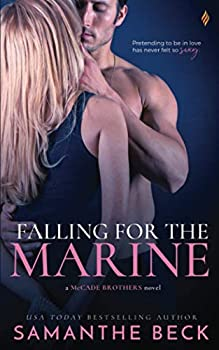 Paperback Falling For The Marine Book