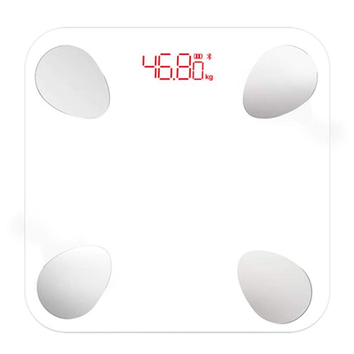 触覚溶接トラクターバスルームスケール滑り止め超薄型バックライトディスプレイ高精度デジタル体重体脂肪計