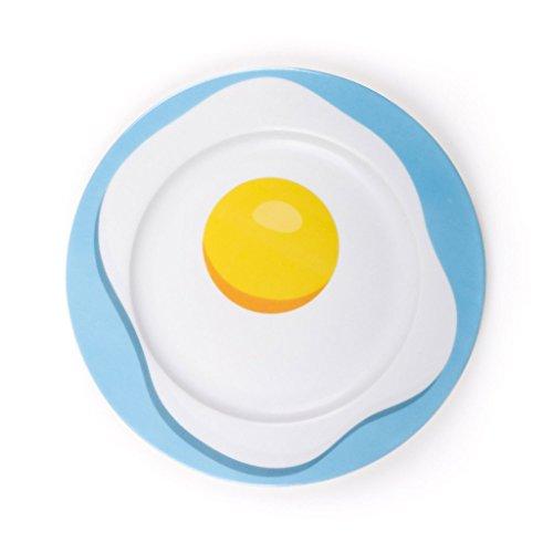 Seletti Blow Egg Assiette plate diam.27 cm Multicouleur