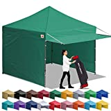ABCCANOPY Canopy Tent 10 x 10 Pop-up Instant Shelters...
