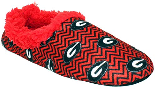 georgia bulldog house shoes - 1