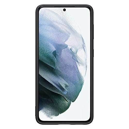 Samsung Cover in silicone per Galaxy S21 5G (2021), Black - 6.2 pollici