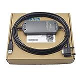 Paquete de cable de programación optoelectrónico aislado para pantalla táctil USB/PPI+ 6ES7901-3DB30-0XA0 PLC - Soporta múltiples estaciones maestras - Velocidad de transmisión de 187,5 kbit/s