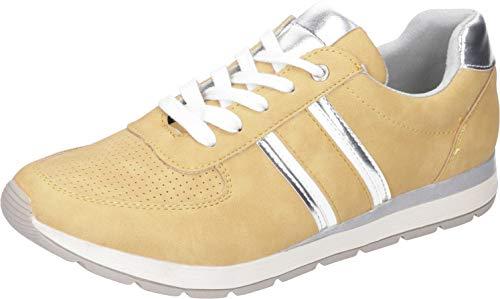 JANE KLAIN Damen 236 781 Sneaker, Gelb (Yellow 607), 37 EU