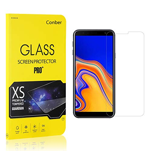Conber (1 Pack) Screen Protector for Samsung Galaxy J4 Core, [Scratch-Resistant][Anti-Shatter][Case Friendly] Premium Tempered Glass Screen Protector for Samsung Galaxy J4 Core