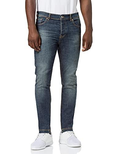United Colors of Benetton Pantalone 4gz757b98 Pantaln, Denim Blue 901, 36 para Hombre