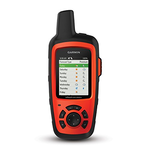Garmin inReach Explorer+, Handheld Satellite Communicator with Topo Maps and GPS Navigation