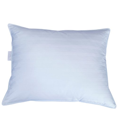 DOWNLITE Extra Soft Down Pillow - Great for Stomach Sleepers - Very Flat (King - Duck Down)