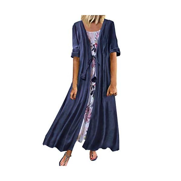 Damen-Kleider-Herbst-Winter-Langarm-Beilufige-Lose-Kleid-2-in-1-Baumwolle-und-Leinen-Floral-Party-Kleid-Kleidung-Abendkleid-Partykleid-Frauenkleid-Kleid-fr-Frauen-Boho-Kleid-Lang-Groe-Gren