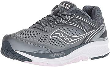 Saucony Women's S10468-1 Echelon 7 Running Shoe, Slate/Pink - 7.5 M US