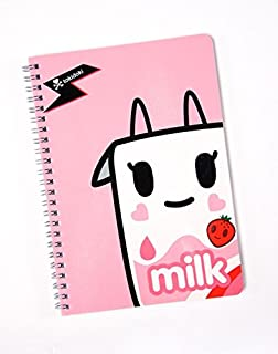 Tokidoki Strawberry Milk Moofia Spiral Notebook