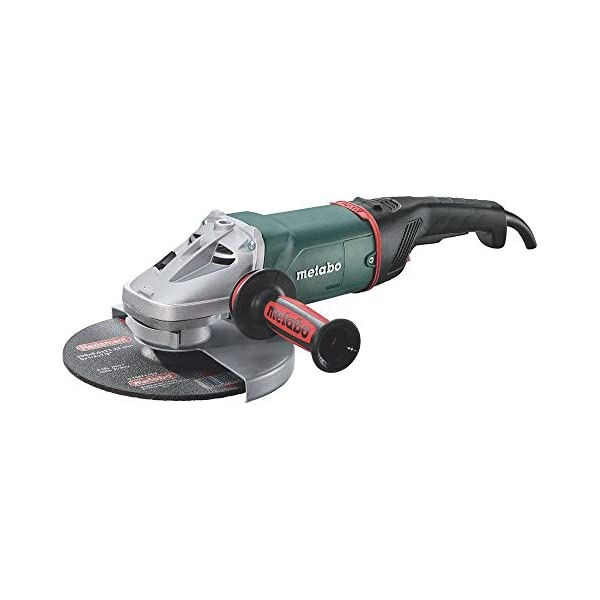 Metabo 606469000 606469000-Amoladora de Potencia We 24-230 MVT 2400W, Verde, 230mm
