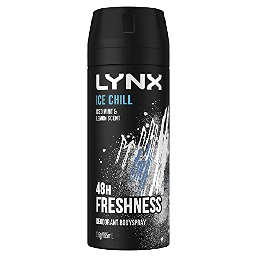 lynx Ice Chill Deodorant Body Spray, 165 ml