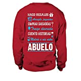 Sudadera Unisex Hago Regalos ARREGLO Juguetes Comprar CHUCHERÍAS TRAIGO DIVERSIÓN Cueto Historias MALERIO A MIS Nietos Abuelo T-Shirt - Rojo - XL