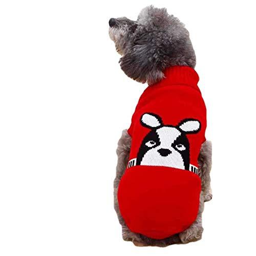 Tineer Perro Reflectante Chaqueta Cachorro Suave Fleece Abrigos oto/ño Invierno Caliente Moda Reflectante Ropa para Mascotas para Perros Grandes L, Gris