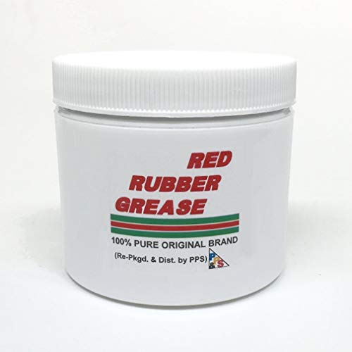 Castrol Red Rubber Grease 114 gm / 4 oz. 100% Pure Genuine, for Brake Caliper Piston Seals and Boots, Corrosion and Oxidation Resistant, Meets Lucas Girling TS-2-34-04 spec.