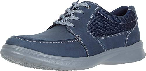 Clarks Cotrell Lane Navy Combi Leather 7.5
