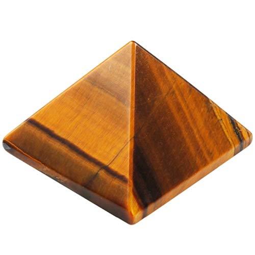 ZTTT Tigers Augensteinpyramide-Figur-Dekoration (Color : 1 Pc)