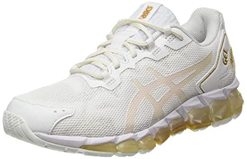 ASICS Gel-Quantum 360 6, Chaussure de Course Femme, White Pure Gold, 39.5 EU