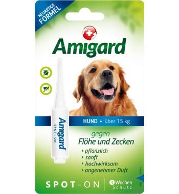 AMIGARD Spot-on Hund über 15 kg 4 Milliliter