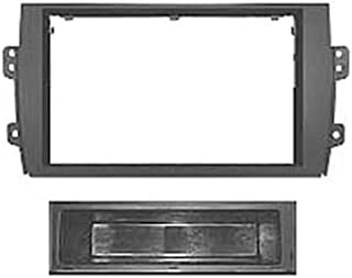 per Mercedes CLK Mascherina adattatore autoradio DIN singolo Autoleads FP-23-07 colore: Nero
