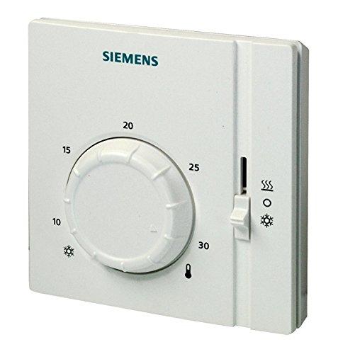 Siemens RAA41 - Termostato, color blanco
