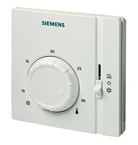 Siemens RAA41 - Termostato, color blanco