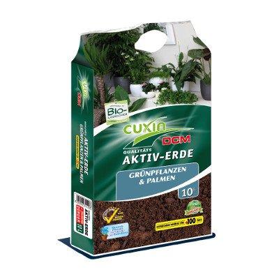 Cuxin Bio Grünpflanzenerde 10 L   Blumenerde für Grünpflanzen mit 100 Tage Dünger   (Bio Grünpflanzenerde, 10 L)