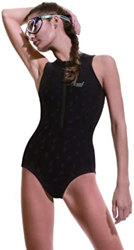 Cressi Thermic Lady Swim Suit (noir gris, grand) by Cressi