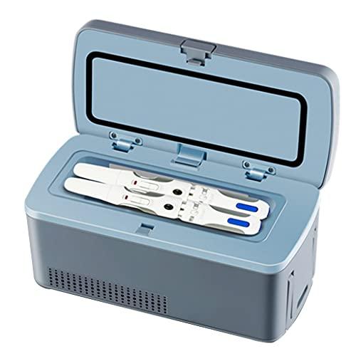 Caja Refrigerada De Insulina Mini Refrigerador Pequeño Portátil Taza De Refrigeración Doméstica Refrigerador Pequeño Recargable Portátil para Automóvil Temperatura Constante De 2-8 ° Más Silencioso